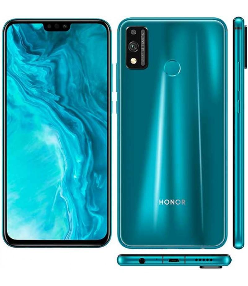 هونر 9X lite - يدعم شريحتي  اتصال - 128 جيجا - 4 جيجا رام