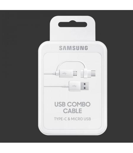 سامسونج Combo Cable (Micro USB, Type-C) DG930