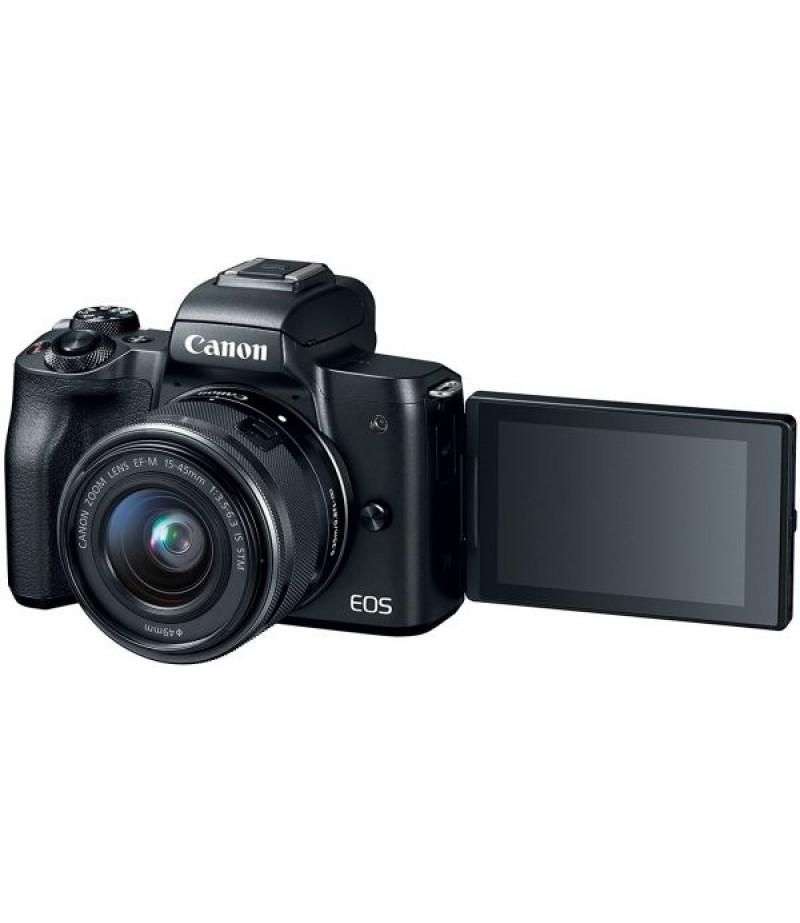 كاميرا CANON EOS M50 (15-45) IS STM