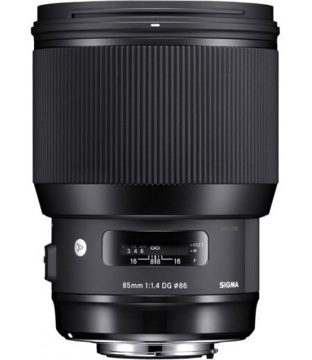 عدسة سيجما 85 ملم f / 1.4 DG HSM ART لكاميرات نيكون